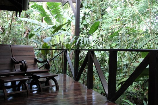 Rio Celeste Hideaway Hotel : View from our private porch!