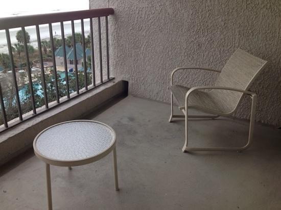 Hilton Head Marriott Resort & Spa : Balcony
