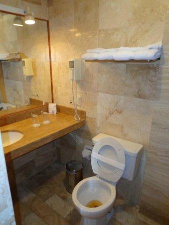 Carmel Hotel: bath room 602