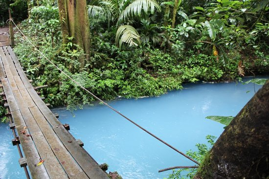 Rio Celeste Hideaway Hotel: The River...This was on our hike