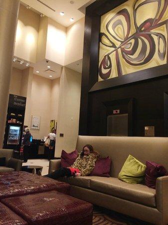 Fairfield Inn & Suites New York Midtown Manhattan/Penn Station : Lobby hotel