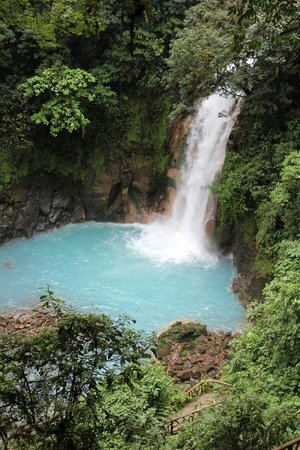 Rio Celeste Hideaway Hotel : Waterfall on our hike