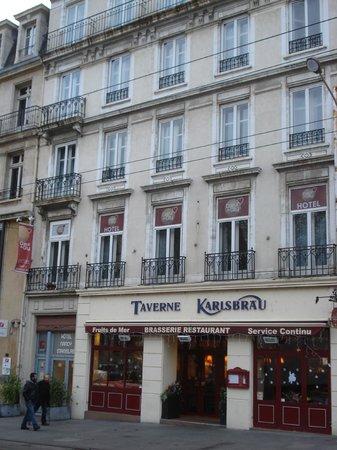 Cœur de City Hotel Nancy Stanislas by HappyCulture : Façade de l'Hotel.