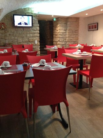 Cœur de City Hotel Nancy Stanislas by HappyCulture : Salle a manger.