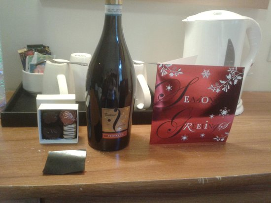 Mercure Telford Madeley Court Hotel: Presents from the Manager