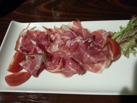Pampas Steakhouse: Iberico Rohschinken