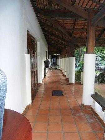 Royal Angkor Resort & Spa: Walkway to premium suites