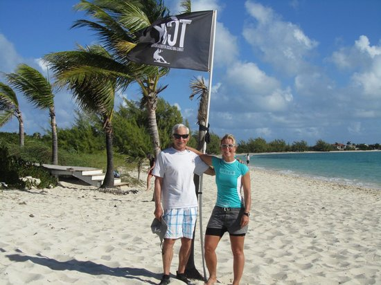 Villa Esencia: With kiteboard instructor