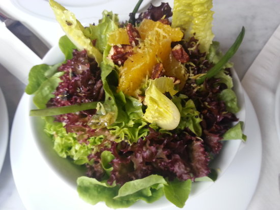La Posta: Mesclun Salad With Black Truffles