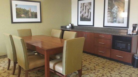 Hilton Garden Inn Durham/University Medical Center: Large gathering room