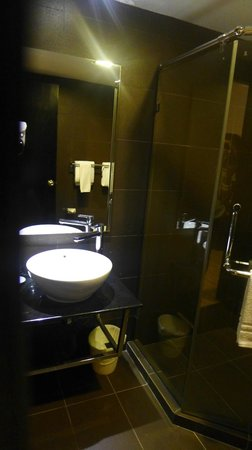 The Brunei Hotel: Sink area