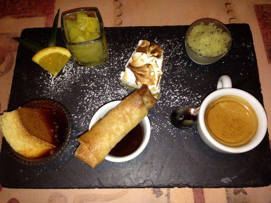 La Part Des Anges: Café gourmand