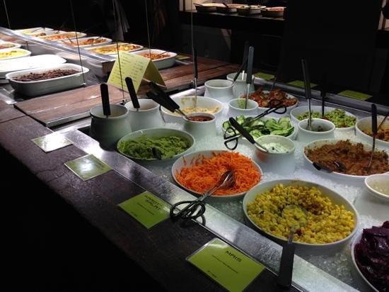 Haus Hiltl: Salatbuffet