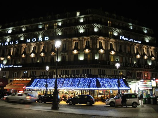 Mercure Paris Terminus Nord: Lovely at night
