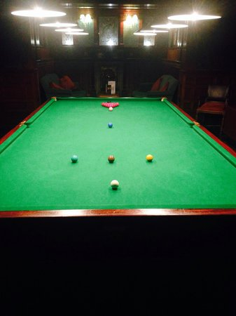 Skeabost Hotel: Snooker Room