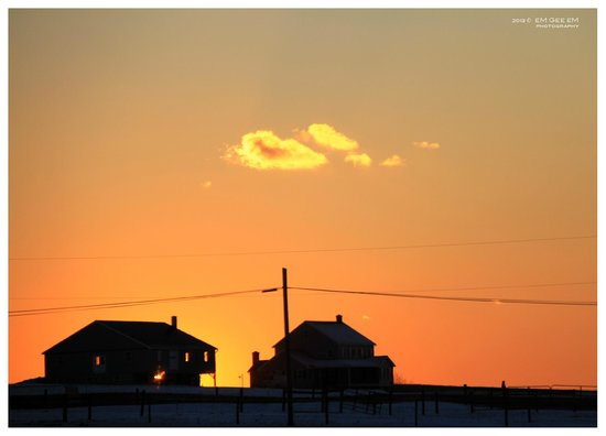 Homestead Lodging: Sunset of the Lancaster County