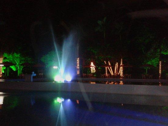 Hotel Internacional Gravatal: Noite natal - chafariz