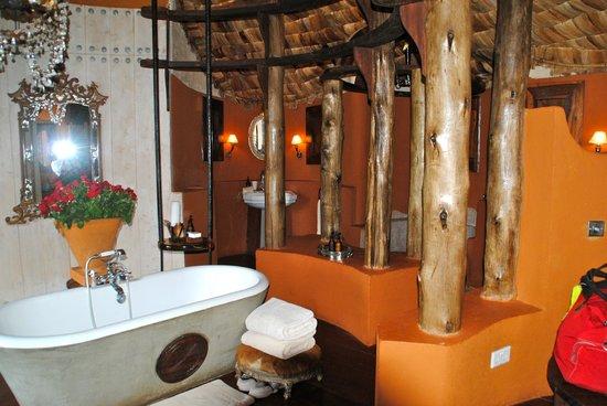 andBeyond Ngorongoro Crater Lodge : bath area