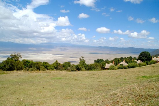 andBeyond Ngorongoro Crater Lodge: view from rooms and grounds