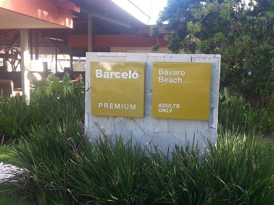 Barcelo Bavaro Beach - Adults Only: hotel adultos