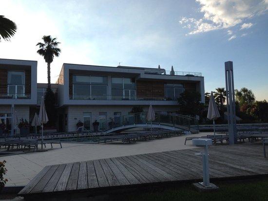 Parc Hotel Germano Suites & Apartments: Main building