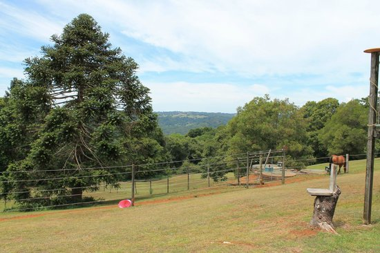 Montville Holiday Apartments: View from our room