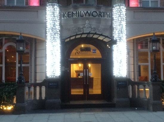 Radisson Blu Edwardian Kenilworth Hotel: Christmas at the Kenilworth