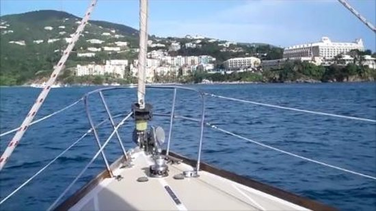 Virgin Islands Day Sailing: Returning to Frenchman's Reef Hotel