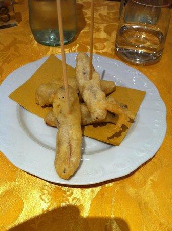 Osteria alla Sicilia Casa Vian: Appetizer