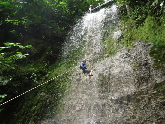 Wave Expeditions: Waterfall Rappelling