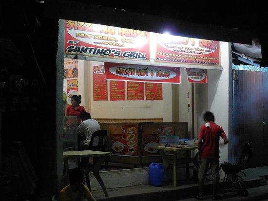 Santino's Grill : Santino front