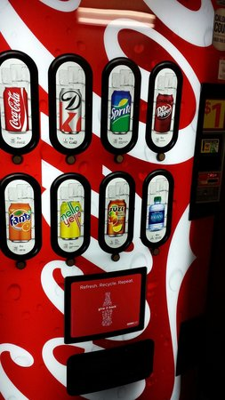 Quality Inn Havelock: Vending machines