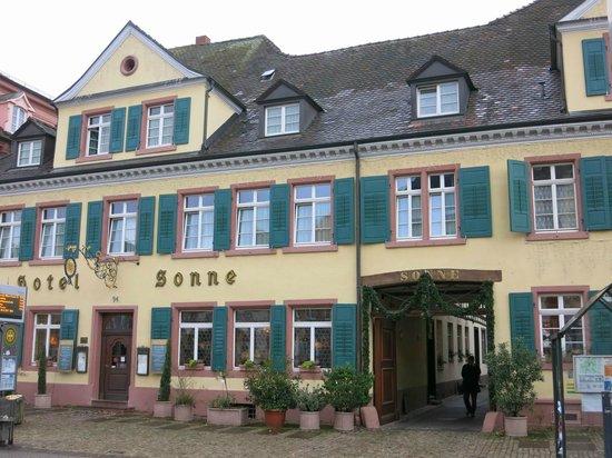 Restaurant Sonne: Hotel Rest Sonne Offenburg, sehr zu empfehlen