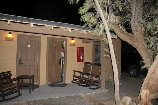 The Oasis at Death Valley : Terrasse