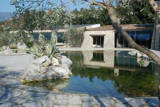 Aquapetra Resort & Spa: Pool and spa area