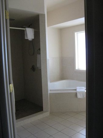 Silver King Inn & Suites: Large Bathroom