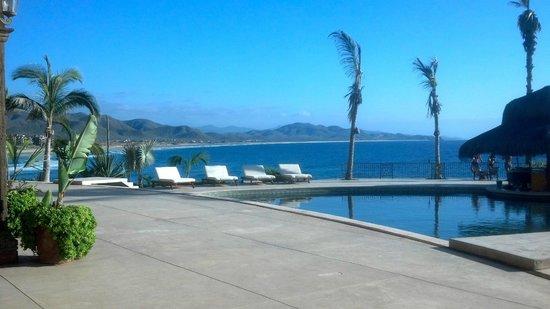 Hacienda Cerritos Boutique Hotel: View to the south