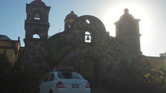 Hacienda Cerritos Boutique Hotel: View of entry