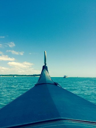 Gondolas of Noosa: Our wonderful family breakfast cruise...