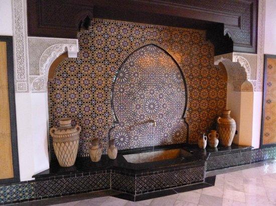 La Mamounia Marrakech : Fuente interior