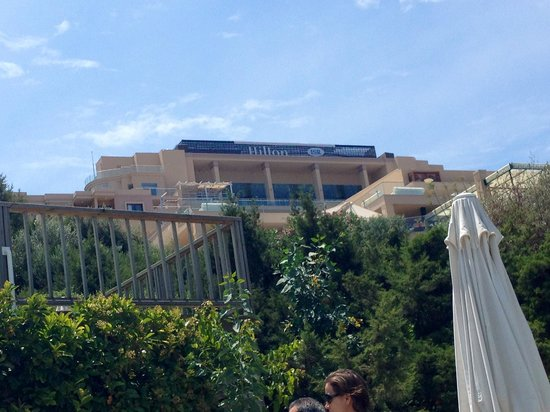 Hilton Bodrum Turkbuku Resort & Spa: Colline