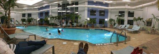 Indoor Pool No Hot Tub Picture Of Hilton Suites Ocean