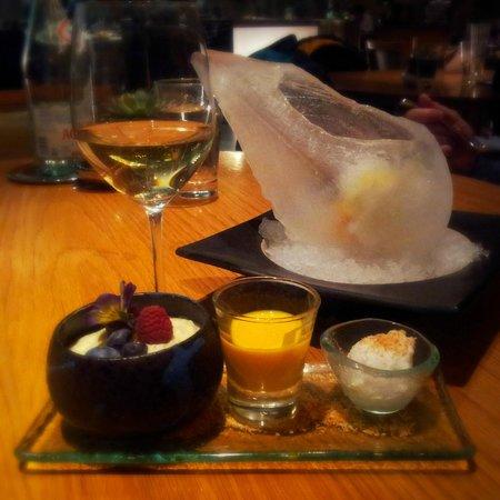 Sensi: Dessert: Tapioca & Sorbets