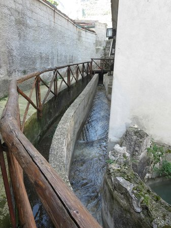 Museo della Carta: the water source