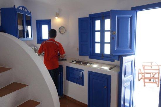 Esperas : kitchen area in the room