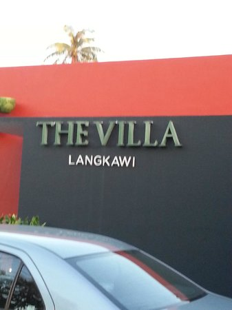 The Villa Langkawi: Front