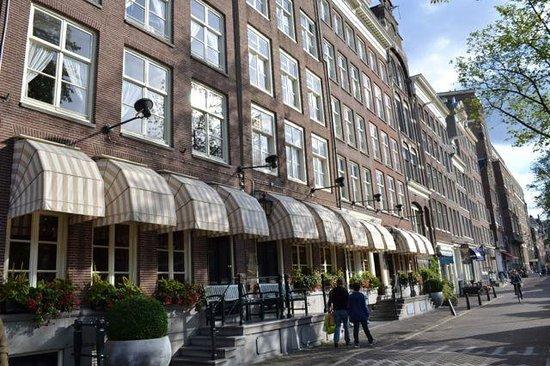 Outside Hotel Estherea