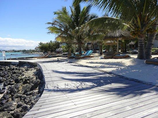 20 Degres Sud Hotel: Espace plage ponton