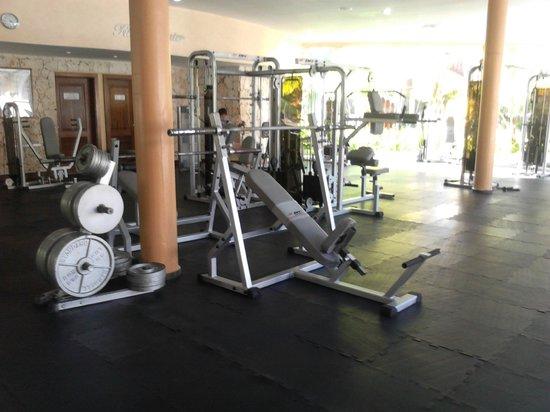 Grand Palladium Punta Cana Resort & Spa: gym