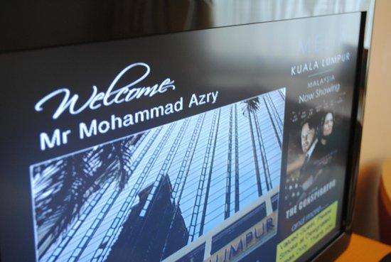 Melia Kuala Lumpur: Welcome